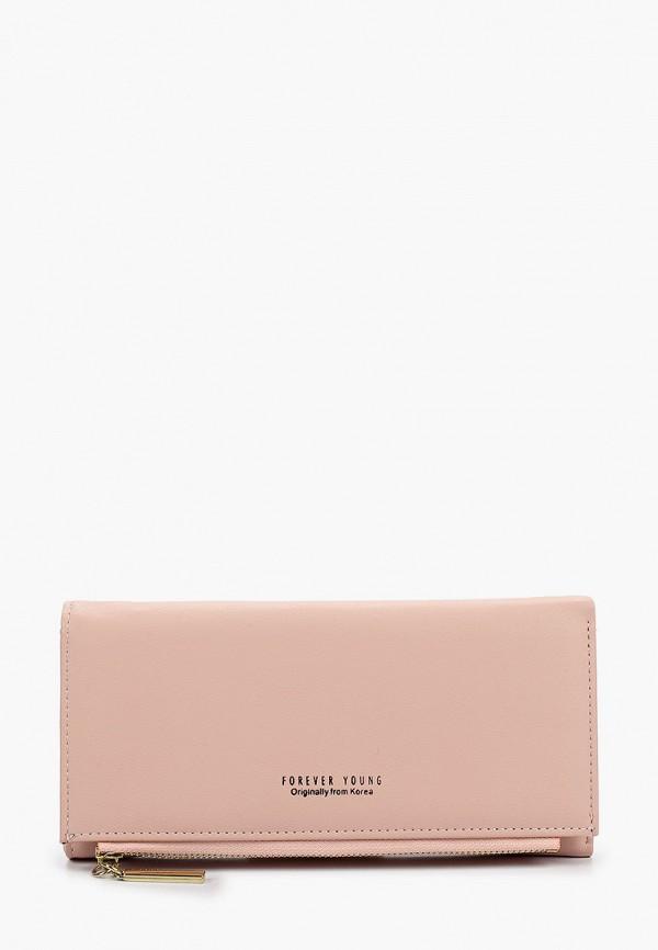 женский кошелёк elsi, розовый