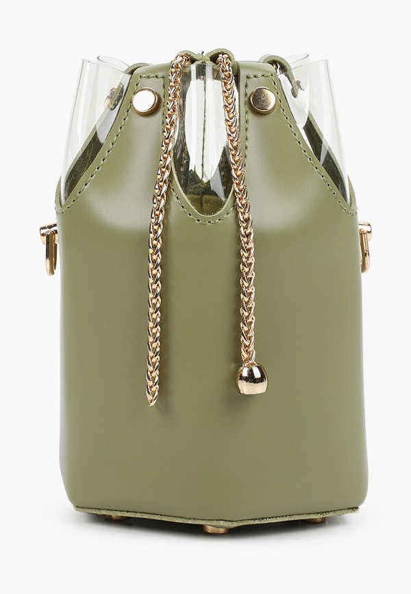 женская сумка elsi, хаки