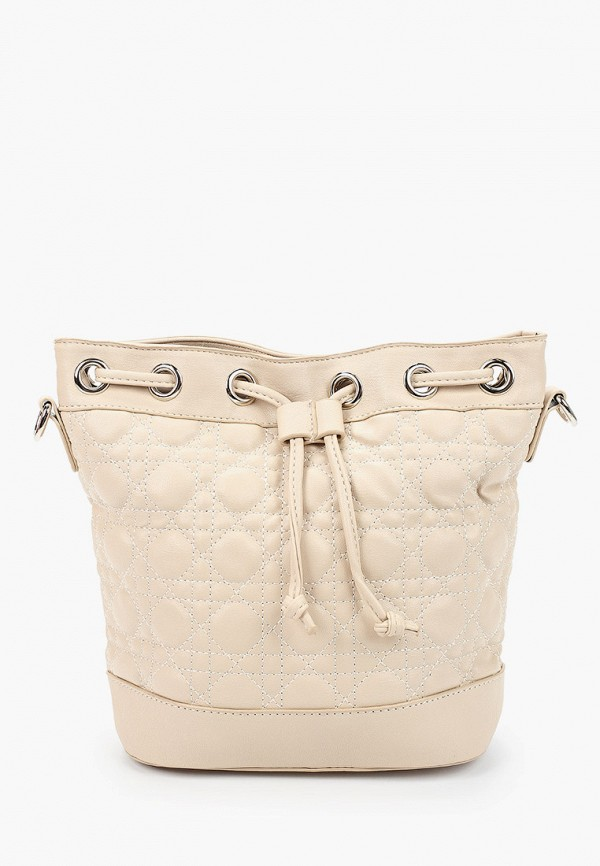 женская сумка через плечо elsi, бежевая