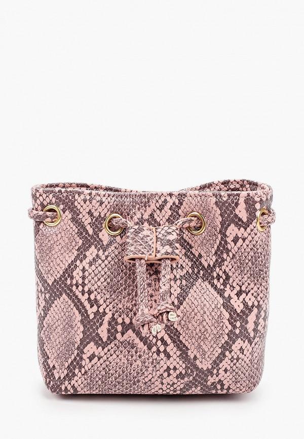 женская поясные сумка elsi, розовая