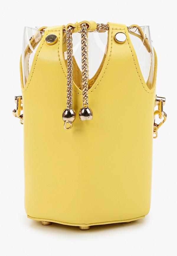 женская сумка elsi, желтая