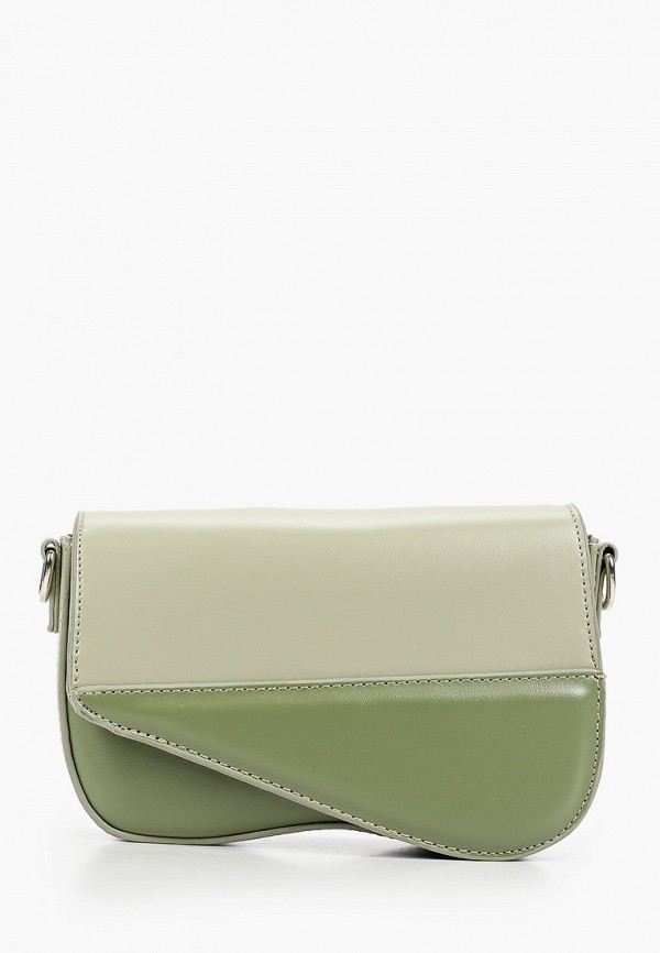 женская сумка через плечо elsi, зеленая