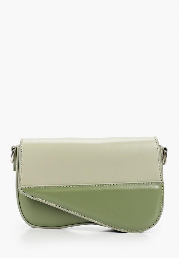 женская сумка elsi, зеленая