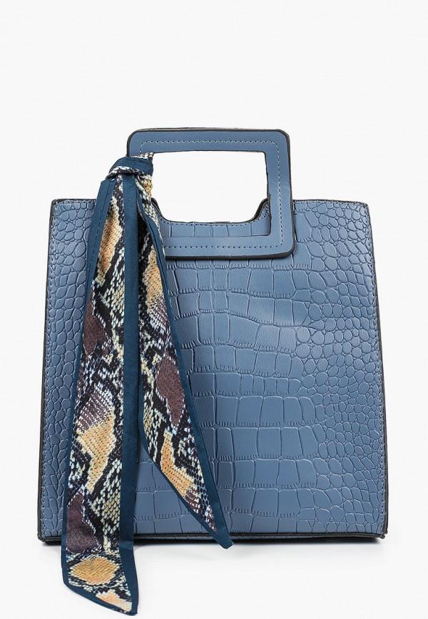 женская сумка elsi, голубая