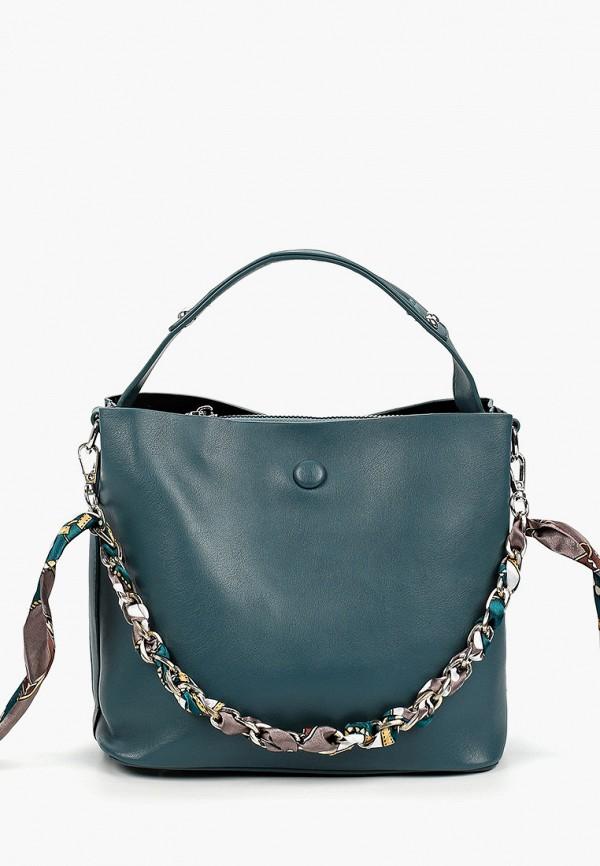 женская сумка elsi, бирюзовая