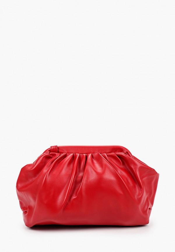 женская сумка elsi, красная