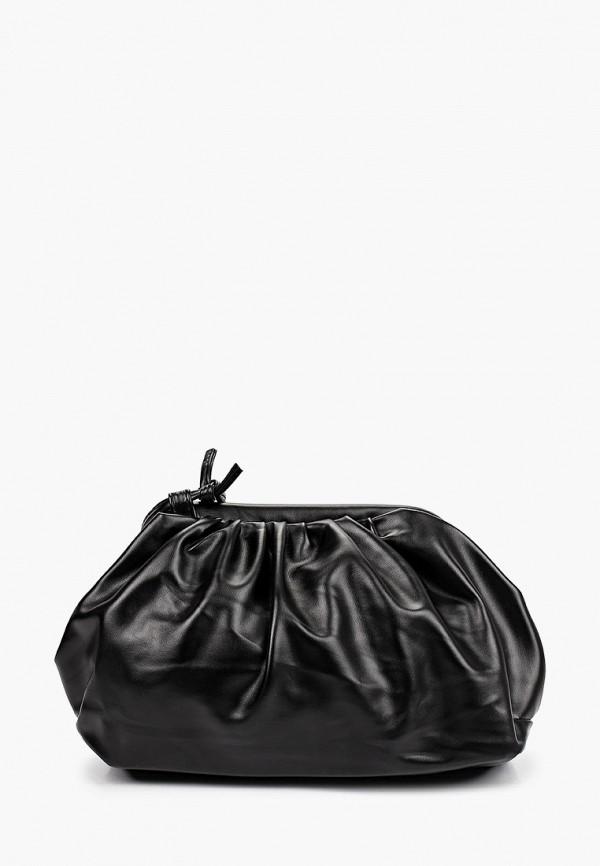 женская сумка через плечо elsi, черная