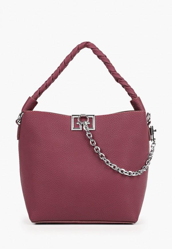 женская сумка elsi, фиолетовая
