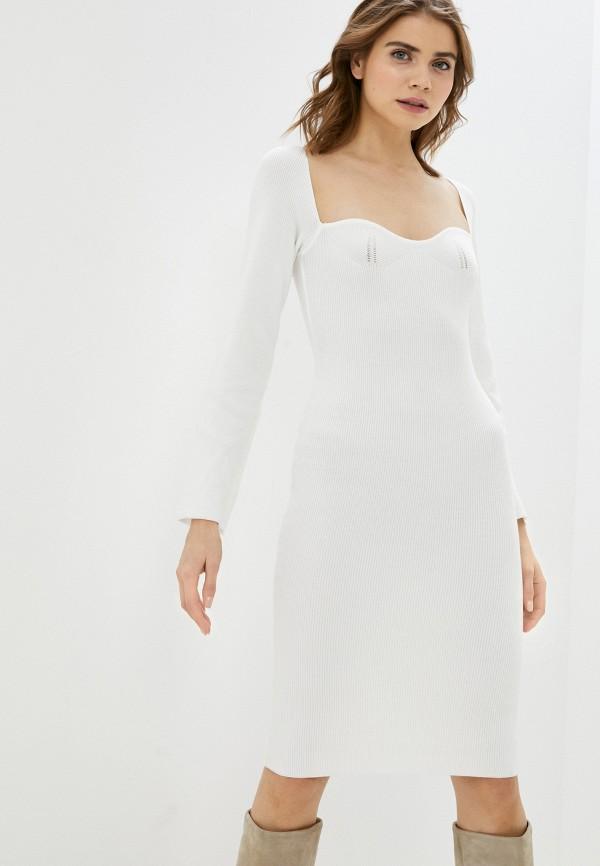 женское платье elsi, белое