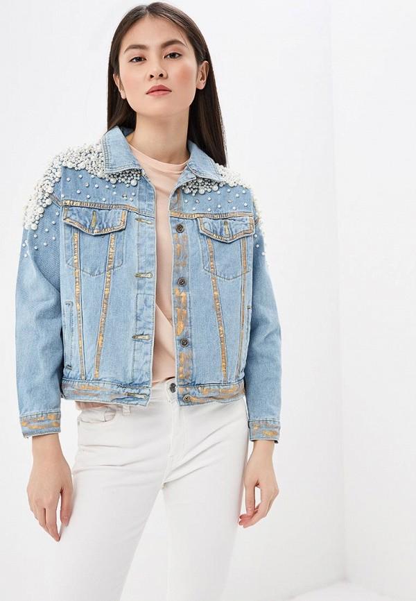 Куртка джинсовая Elsi Elsi EL026EWERMC4 куртка утепленная elsi elsi el026ewhj292