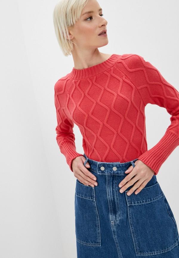 женский пуловер elsi, красный