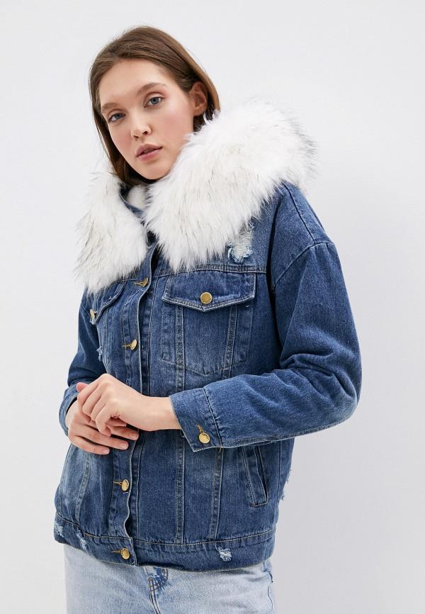 цена на Куртка джинсовая Elsi Elsi EL026EWHDTF0