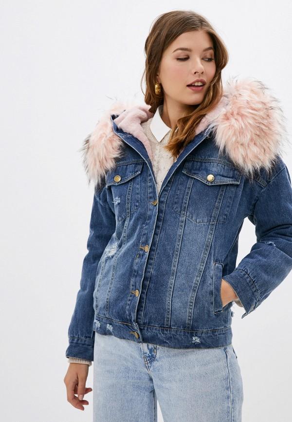 цена на Куртка джинсовая Elsi Elsi EL026EWHDTF1