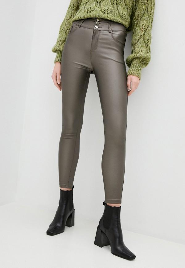 женские повседневные брюки elsi, серые