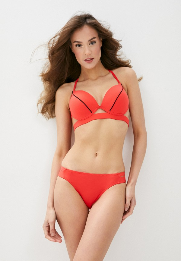 женский купальник elsi, красный