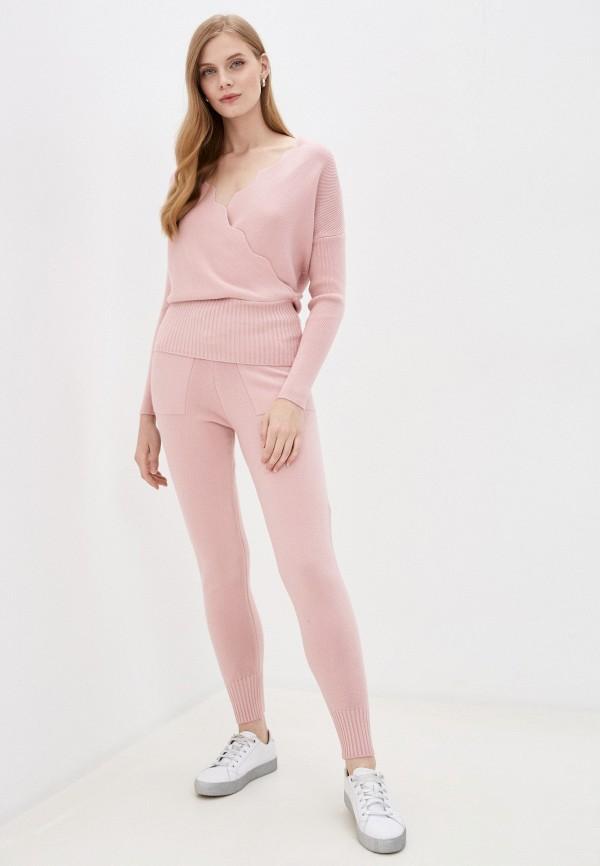 женский костюм elsi, розовый