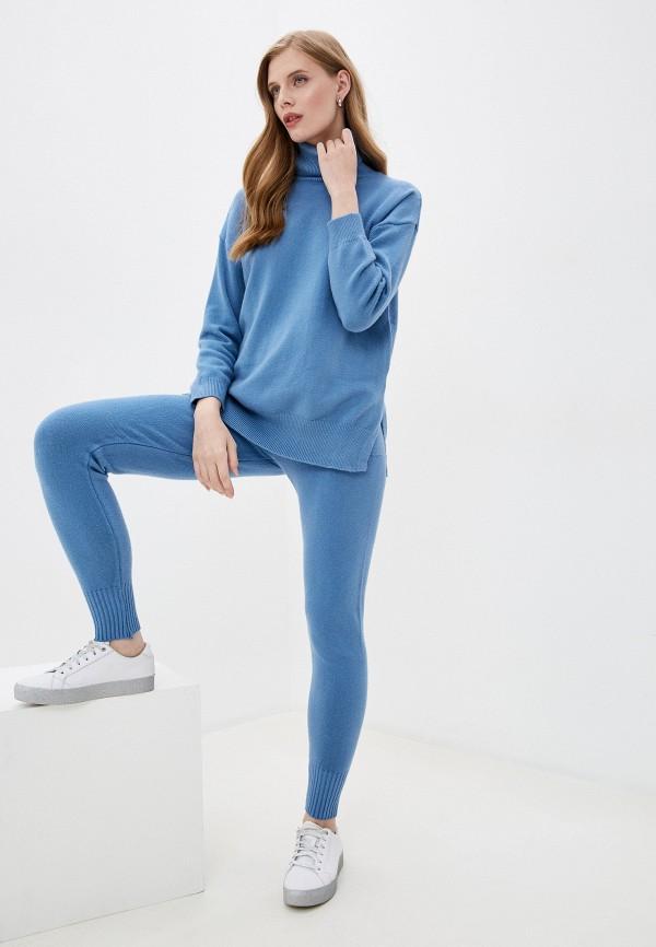 женский костюм elsi, голубой