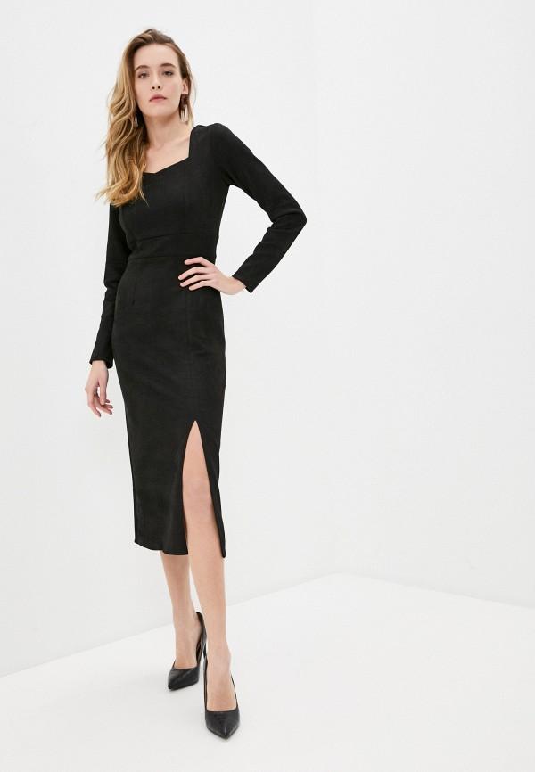 женское платье elsi, черное
