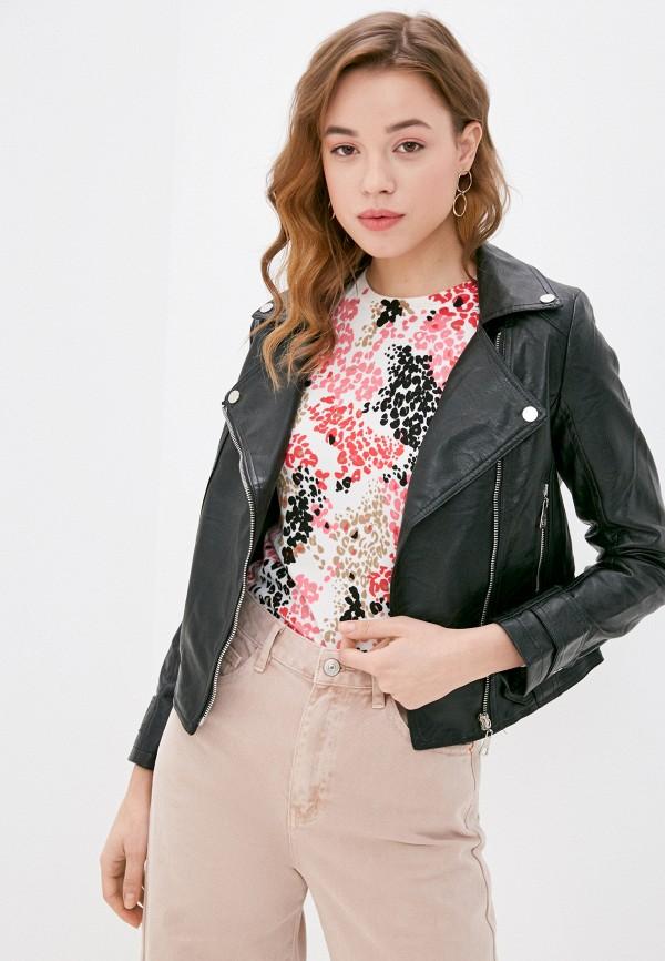женская куртка elsi, черная