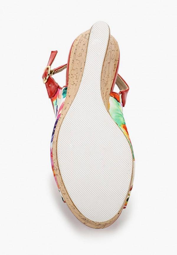 Фото 3 - женские босоножки Elita разноцветного цвета