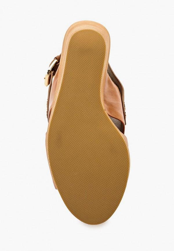 Фото 3 - женские босоножки Elita коричневого цвета