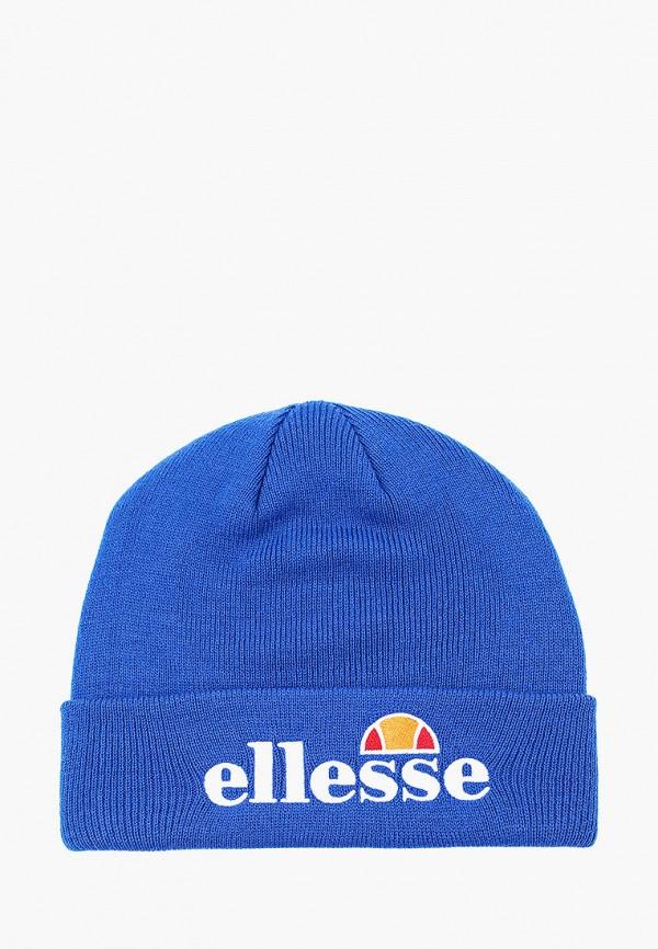 женская шапка ellesse, синяя