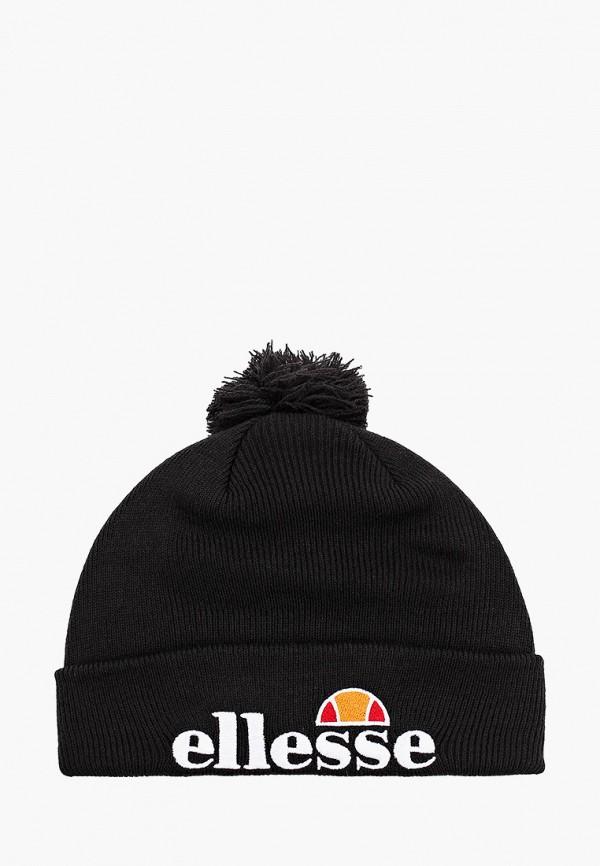 женская шапка ellesse, черная