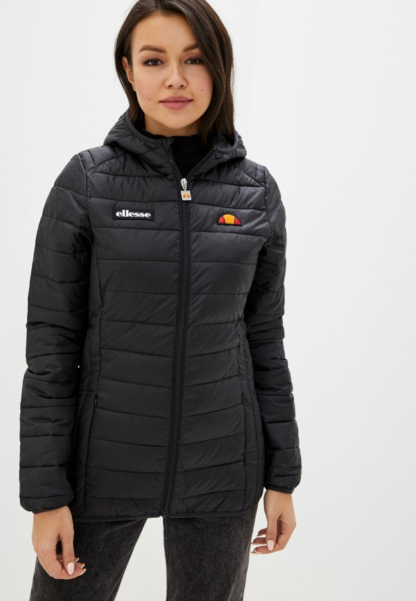 женская куртка ellesse, черная