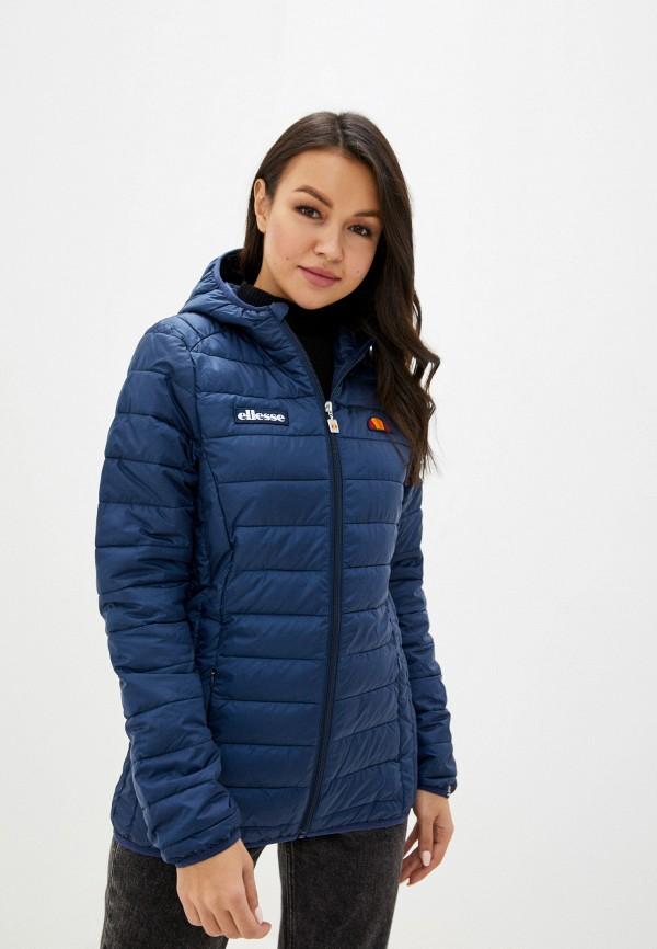 женская куртка ellesse, синяя