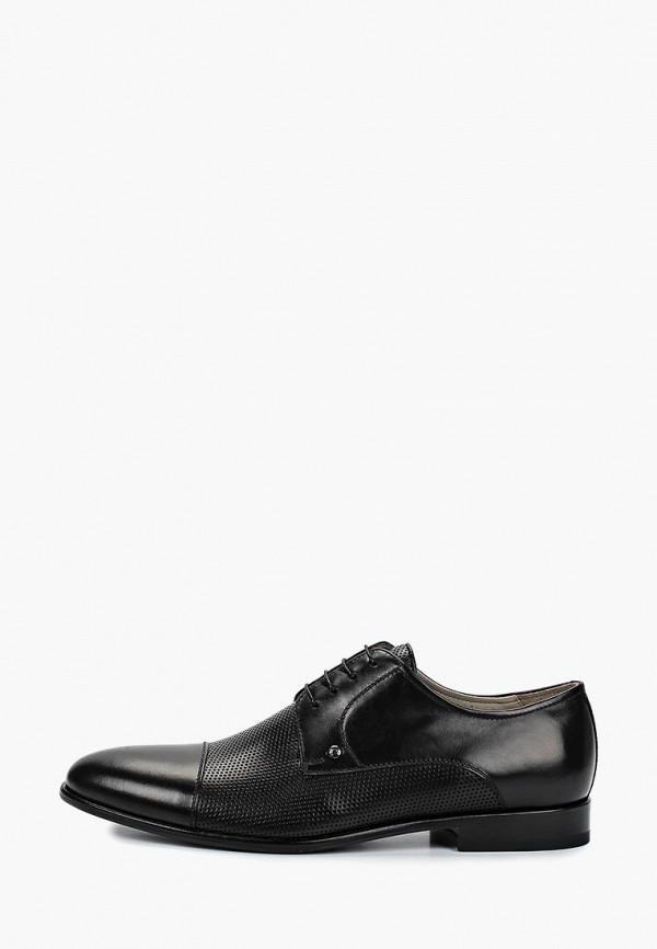 мужские туфли el'rosso, черные