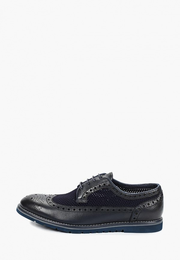 мужские туфли el'rosso, синие