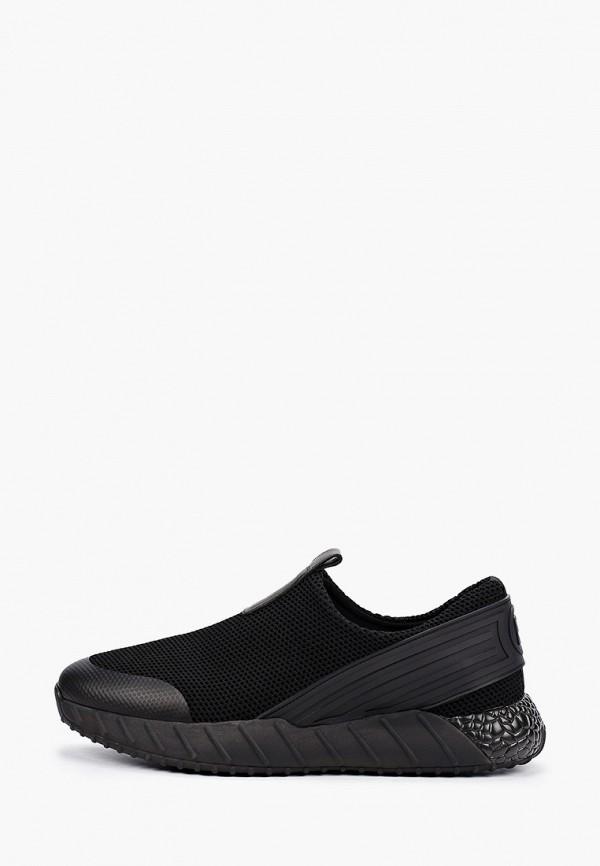 мужские низкие кроссовки el'rosso, черные