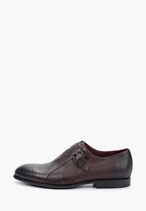 мужские туфли el'rosso, коричневые