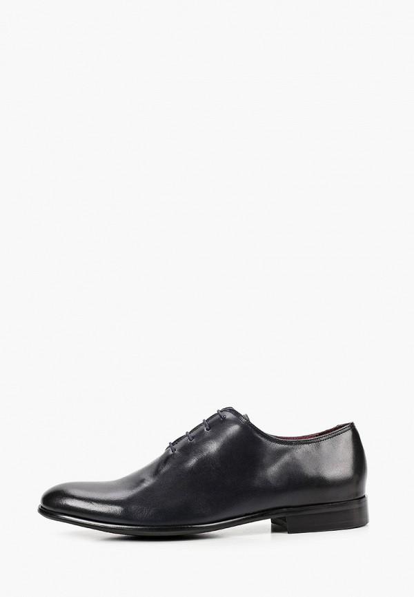 мужские туфли-оксфорды el'rosso, черные