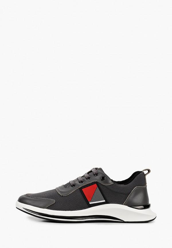 мужские низкие кроссовки el'rosso, серые