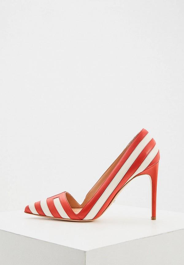 женские туфли elisabetta franchi, красные