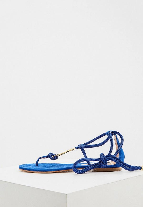 женские сандалии elisabetta franchi, синие