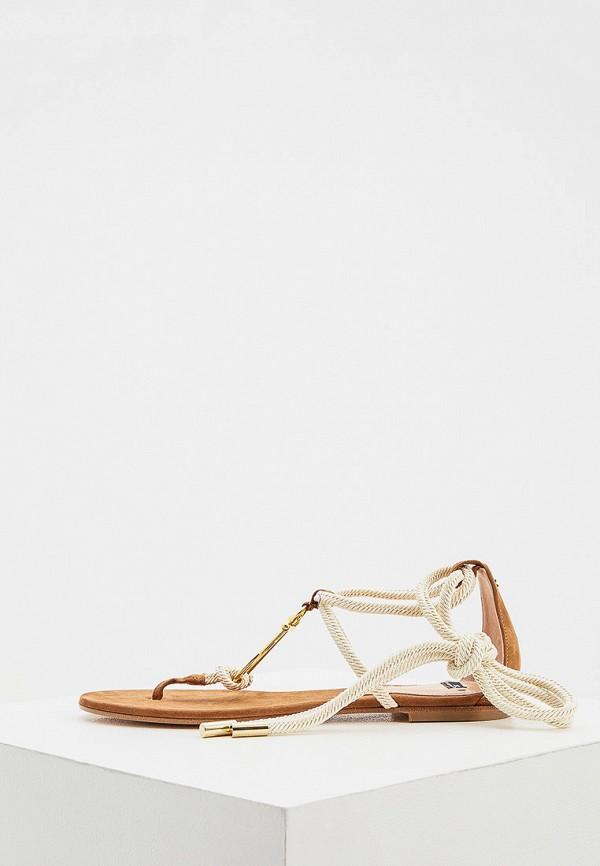 женские сандалии elisabetta franchi, коричневые