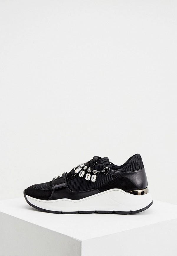 женские кроссовки elisabetta franchi, черные