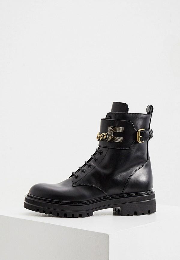женские ботинки elisabetta franchi, черные
