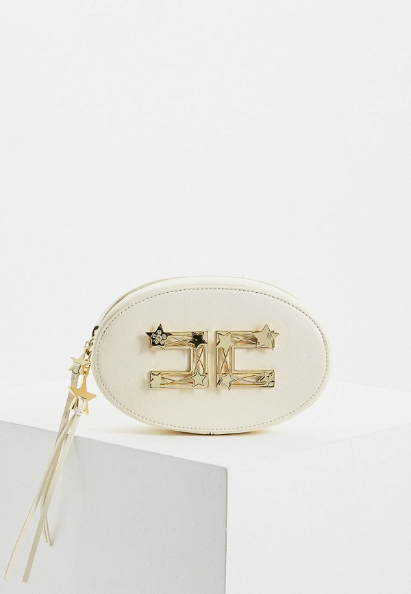 женская сумка elisabetta franchi, белая