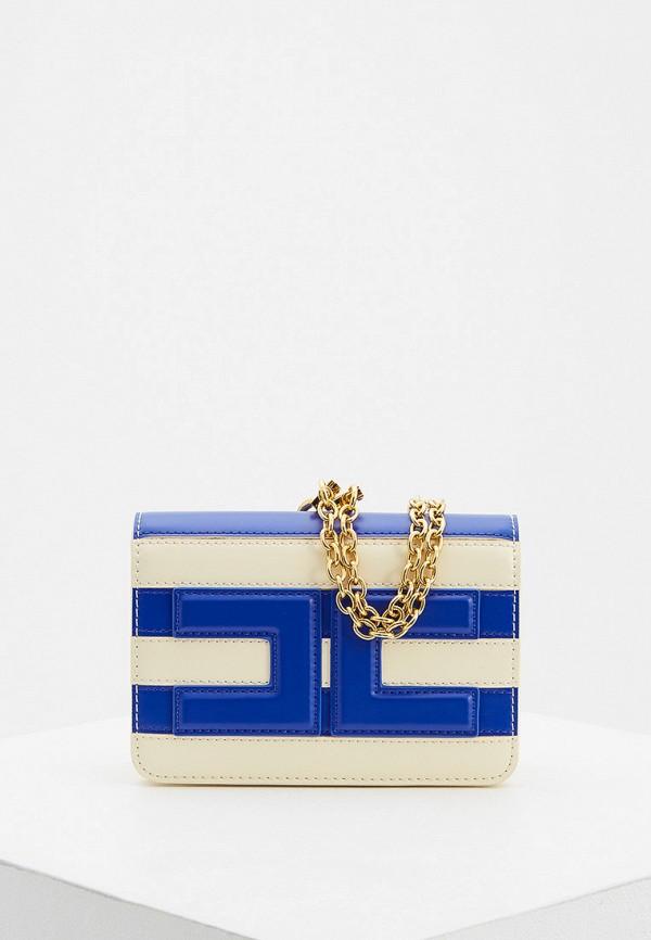 женская сумка elisabetta franchi, разноцветная