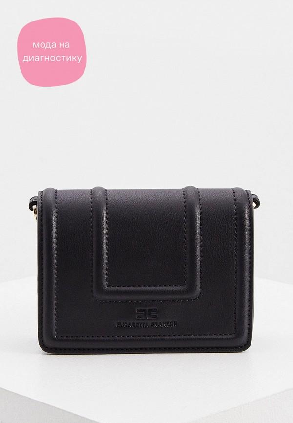 женская сумка elisabetta franchi, черная