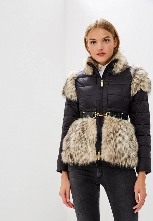 Куртка утепленная Elisabetta Franchi Elisabetta Franchi EL037EWBQAN4 куртка утепленная elisabetta franchi elisabetta franchi el037ewucw33