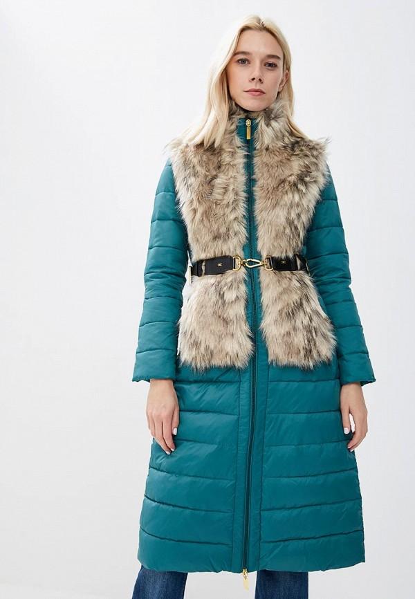 Куртка утепленная Elisabetta Franchi Elisabetta Franchi EL037EWBQAN7 куртка утепленная elisabetta franchi elisabetta franchi el037ewucw33