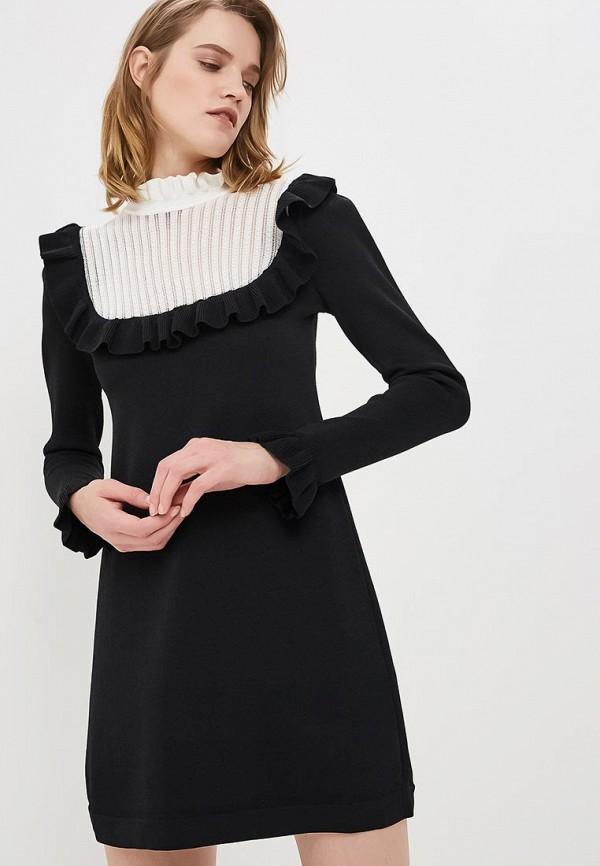 Платье Elisabetta Franchi Elisabetta Franchi EL037EWBQDU3 elisabetta franchi черное асимметричное платье