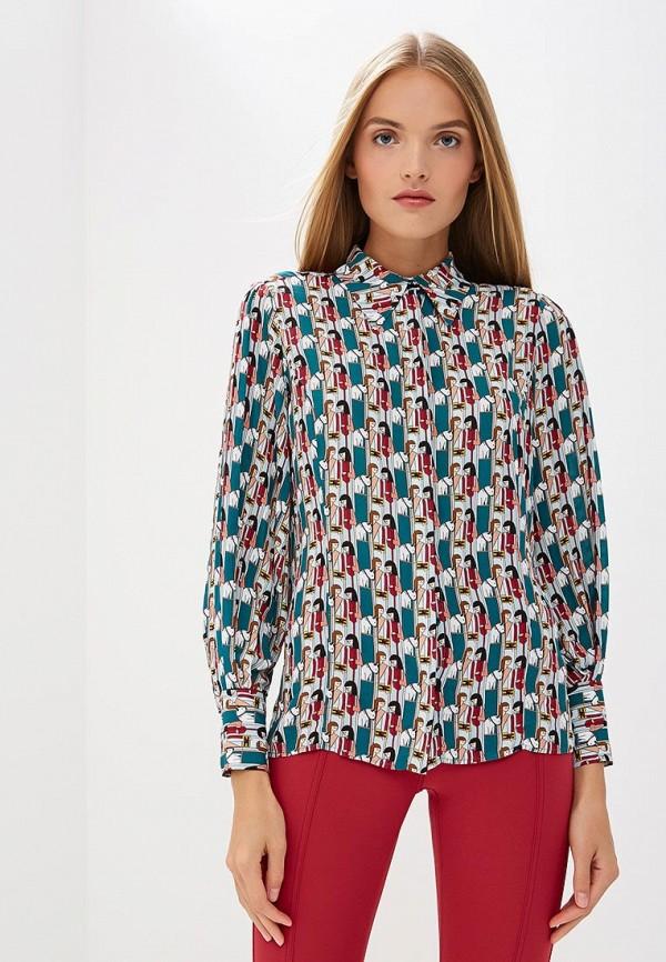 Фото - Блузу Elisabetta Franchi разноцветного цвета