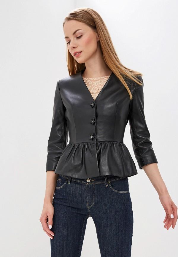 Куртка кожаная Elisabetta Franchi Elisabetta Franchi EL037EWEDED6