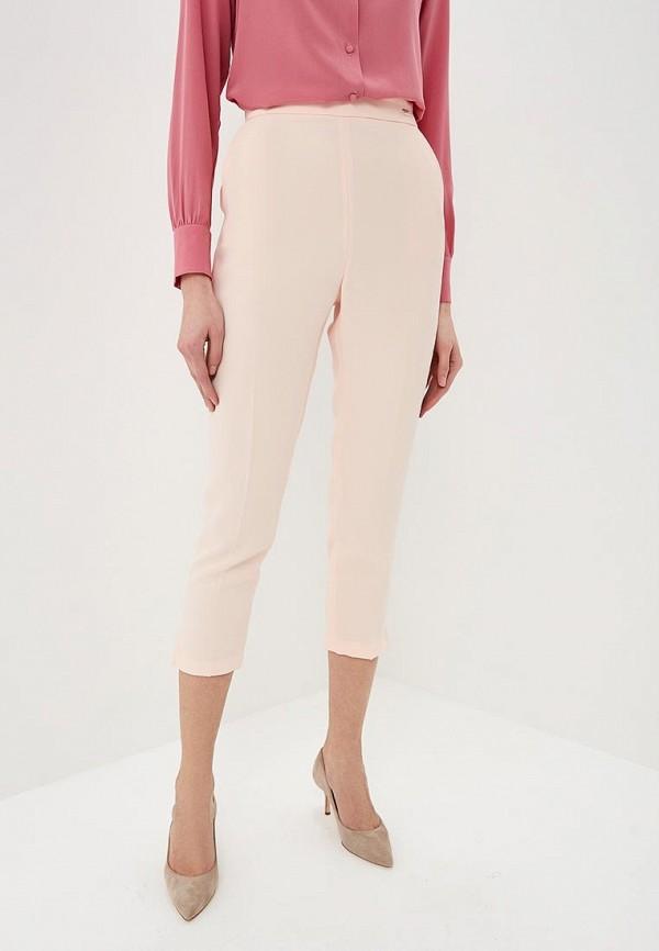 женские классические брюки elisabetta franchi, бежевые