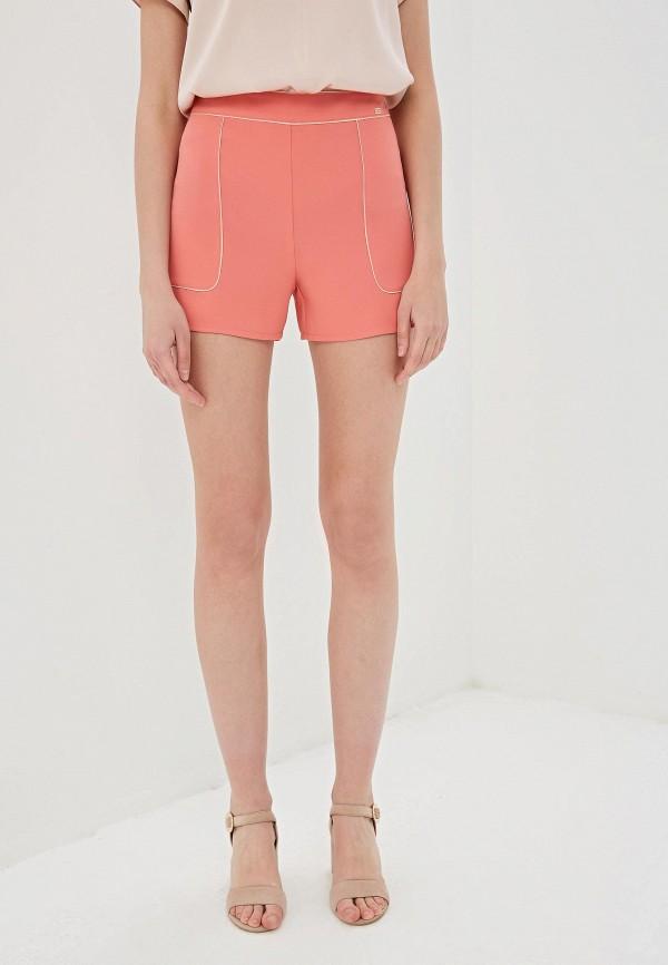женские повседневные шорты elisabetta franchi, розовые